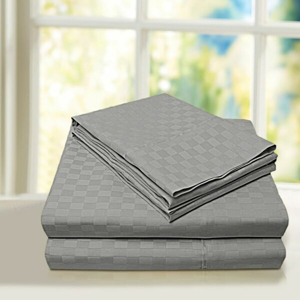 Beverly Hills 600 Thread Count 100% Cotton Sheet Set by Home Sweet Home Dreams